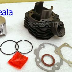 Set cilindri Moto - Kit Cilindru - Set Motor Scuter Peugeot Buxy - Buxi 80cc - 47mm - RACIRE AER