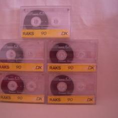 Vand caseta audio Raks DX-60, originala, raritate!