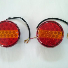 Lampa remorca cu LED-uri 14 X 33 14 X 34 12V SAU 24V, Universal