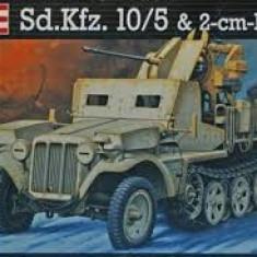 + Macheta Revell 03061 1:35 - Demag D7 Sd.Kfz.10/5 with Flak 38 20mm + - Macheta auto