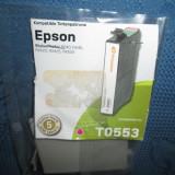 Primation Epson T0553 compatibil R240, 245, rx 420, 425, 520. - Cartus imprimanta