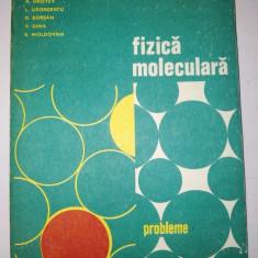 Fizica moleculara - Probleme - Ed. Didactica si pedagogica Bucuresti 1981 - Carte Fizica