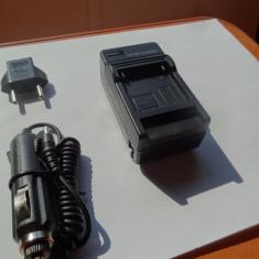 Camera video auto - Incarcator baterii GOPRO, priza si masina, NOU, Hero 3 / 3+ (ACUMULATOR AHDBT-301/201 auto bricheta)