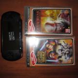 Playstation portable+2Jocuri + card cu 3 jocuri - PSP Sony