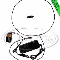 Casti cu magnet pe timpan Casca japoneza Sisteme microvibratie Filtru de SUNET - Casti Telefon, Negru, In ureche, Comenzi pe fir: 1