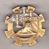 Bnk ins Franta - Insigna regiment - artilerie - COMMANDEMENT DE DAT 7°RM - Ordin/ Decoratie