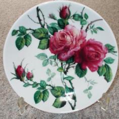 Farfurie - decorativa / de colectie - portelan Englezesc - English Rose, Farfurii
