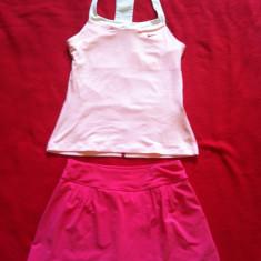 Costum tenis fete colecția Maria Sharapova 12-13 ani Nike, Culoare: Roz, Marime: L