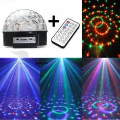Glob LASER DISCO LED CLUB PARTY telecomanda stick - Lumini club