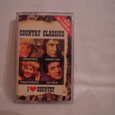 Vand caseta audio Country Classics, originala, raritate! - Muzica Country Columbia, Casete audio