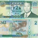 FIJI 2 dollars 2000 COMEMORATIVA UNC!!!, Australia si Oceania