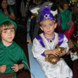 Costum copii, Alb - Costum serbare Aladin