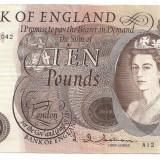 Bancnota Straine, Europa - ANGLIA 10 POUNDS LIRE ND (1964-66) VF