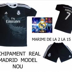 Set echipament fotbal Adidas - ECHIPAMENTE FOTBAL COPII 2-14 ANI, REAL MADRID-RONALDO-, LIVRARE GRATUITA