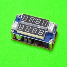 Modul Sursa reglabila 0.8V-29V 0-5A cu dublu afisaj