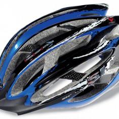 Casti Bicicleta SH+ ZEUSS MTB blue-black, 54-58/S-M