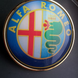 Emblema Alfa Romeo De Porbagaj Sau Capota