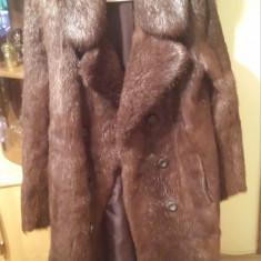 Palton dama, Marime: 44 - Vand haina naturala de nurca