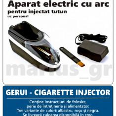 Aparat rulat tigari - GERUI - Aparat electric / injector pentru injectat tutun in tuburi de tigari