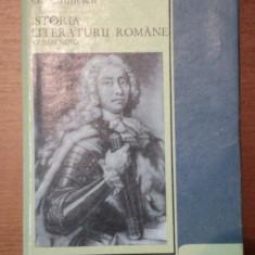 Studiu literar - ISTORIA LITERATURII ROMANE. COMPENDIU de G.CALINESCU