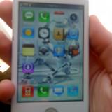 Telefon mobil, Alb, 32GB, Neblocat, Single core, 128 MB - Replica iphone 4S