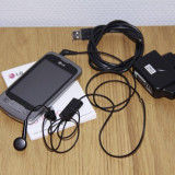 Telefon LG Optimus One P500 - Telefon mobil LG Optimus One, Argintiu, <1GB, Vodafone, Single SIM, Single core