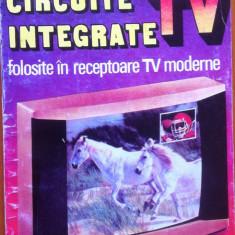 CIRCUITE INTEGRATE TV FOLOSITE IN RECEPTOARE TV MODERNE - Mihai Basoiu, Mihail Silisteanu - Carti Electronica, Teora