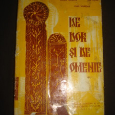 STEFAN GOANTA, ION PITOIU, IOAN MURESAN - DE DOR SI DE OMENIE {1971} - Carte Arta populara