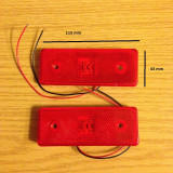 Lampa laterala SMD gabarit ROSU 24 V, Universal