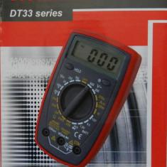 Multimetre - DT-33D Aparat de Masura Digital Electronic | DT33D | Buzzer | MULTIMETRU | AMPERMETRU | VOLTMETRU | NOU