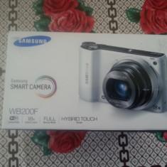 Vand samsung camera smart menu wb200f wifi sigilata - Aparat Foto compact Samsung, 14 Mpx, 18x, 3.0 inch