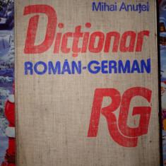 Dictionar roman-german ((60.000 de cuvinte titlu)-Mihai Anutei Altele