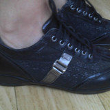 Pantofi dama, Marime: 37.5, Maro - Pantofi din piele firma VALLEVERDE marimea 37, purtati o singura data!