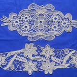SET 2 MILEURI - MACRAME DEOSEBITE - tesatura textila