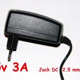 Incarcator tableta, 5v 3A cu mufa rotunda Jack de 2, 5 mm, Incarcator retea, Universal
