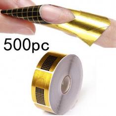 Sabloane constructie Unghii false BeautyUkCosmetics 500 buc pt set Unghii false BeautyUkCosmetics manichiura