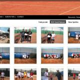 Site prezentare firma baza sportiva tenis