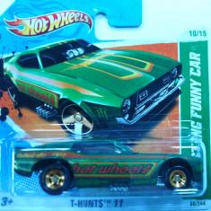 HOT WHEELS-TREASURE HUNT$-FORD MUSTANG FUNNY CAR ++2501 DE LICITATII !!! - Macheta auto Hot Wheels, 1:64
