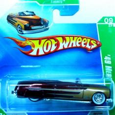 HOT WHEELS-TREASURE HUNT$- MERCURY COUPE 1949 ++2501 LICITATII !! - Macheta auto Hot Wheels, 1:64