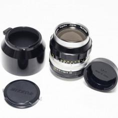 Vand Nikkor P Auto 105m f/2.5, manual, adaptat complet pe digital - Obiectiv DSLR Nikon, Tele, Manual focus, Nikon FX/DX