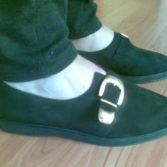 Pantofi dama Gabor, Marime: 38, Negru - Pantofi din piele firma Gabor marimea 38, arara ca noi!