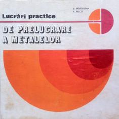 Carti Metalurgie - LUCRARI PRACTICE DE PRELUCRARE A METALELOR - V. Marginean, F. Petcu