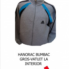 Trening barbati Adidas, Bumbac - BLUZA TRENING/ HANORAC ADIDAS, MATERIAL BUMBAC GROS-, LIVRARE GRATUITA