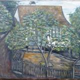 Tablou - Casa veche - semnat Ronner 1927