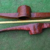 Metal/Fonta - Lot de doua tarnacoape de pompieri vechi si mari