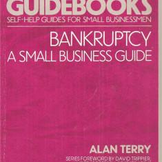 (C4547) BANKRUPTCY A SMALL BUSINESS GUIDE DE ALAN TERRY, 1985 - Carte afaceri