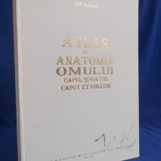 ION PASSAT - ATLAS DE ANATOMIA OMULUI * CAPUL SI GATUL - BUCURESTI - 1995