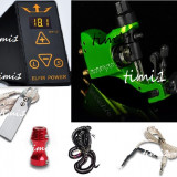kit tattoo profesional cu sursa Efin Power digitala si masina Stigma Bizzare2, tatoo,aparat,tatuat