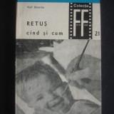 Carte Fotografie - KARL SUTTERLIN - RETUS CAND SI CUM COLECTIA FOTO FILM
