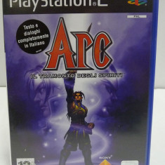 JOC PS2 ARC TWILIGHT OF THE SPIRITS ORIGINAL PAL / STOC REAL / by DARK WADDER - Jocuri PS2 Sony, Actiune, 12+, Single player